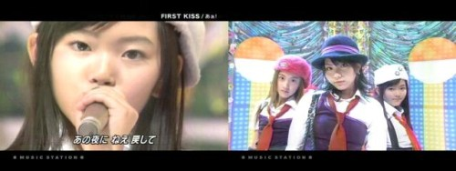 3rd grade Suzuki Airi on Music Station as Aa!